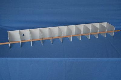3082 Lamel kanarie/exoten plafond
