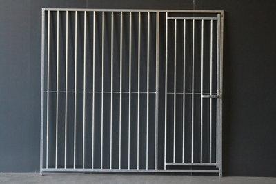 kennel 200 cm breed met deur