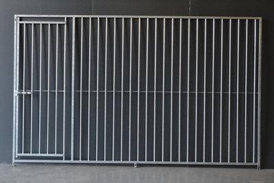 kennel 300 cm breed met deur